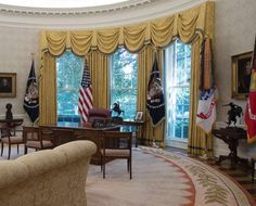 recreating oval office. Nice Window Treatment ~ WH Oval Office, Aug. 22, 2017 Recreating Office