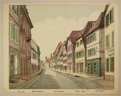 Nr. 1554. Ville. (Fond.) Stadt. (Hintergrund.). Town. (Background). Cindat. (Fondo). Citta. (Fondo)