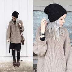 Modern Vice Boots, Madewell Jeans, Marc By Marc Jacobs Bag, Free People Shirt, Pylo Sweater