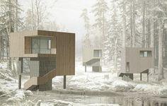 Ле Ателье-это архитектурное бюро, исследующее в своих проектах возможности пространства, дизайна и материалов