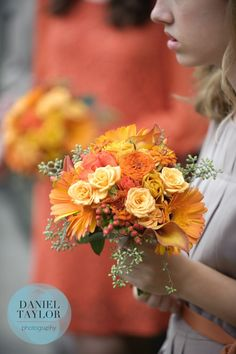 Gorgeous autumn wedding bouquets from Dorothy McDaniel's Flower Market in Birmingham, Ala. Daniel Taylor Photography