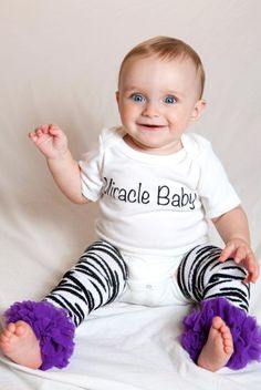 Miracle Baby-Miracle Baby Baby Onesie
