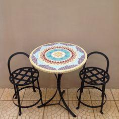 Mandala de mosaico q