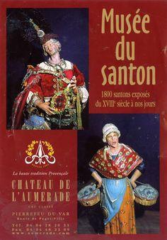 Le musée des santons du Château de l'Aumérade