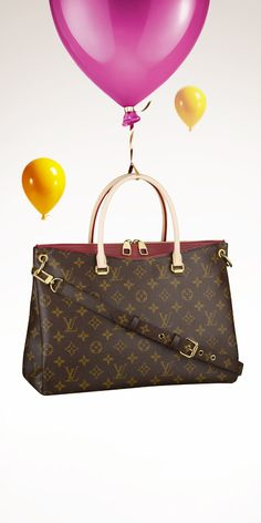 Add the Louis Vuitton Pallas to your holiday wishlist.