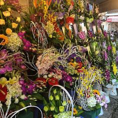 There are streets of flowers on the Hanoi Old Quarter! #upsticksandgo #flowers #hanoi #hanoioldquarter #travelgram #travelphotos #travellingtheworld #naturephotos