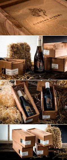 WEINMANUFAKTUR CLEMENS STROBL // Strohgold & Traminer Packaging PD