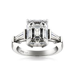 Beautiful. Hardy Brothers Vault Collection Emerald Cut