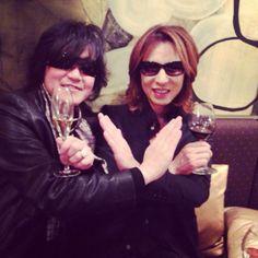 ToshI. Yoshiki. X Japan.