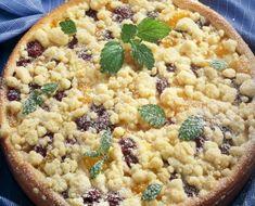 Bleskový ovocný koláč Gottovej kuchárky. Tento skvelý recept zvládne naozaj každý!   Šarm Macaroni And Cheese, Oatmeal, Breakfast, Cake, Ethnic Recipes, Food, Pastries, Hampers, The Oatmeal