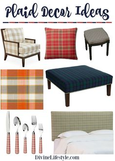 Plaid Decor: Warm Up