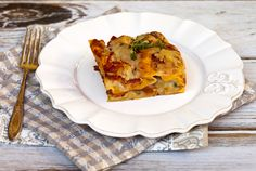 Italian Food Forever » Butternut Squash & Spinach Lasagna With Review Of No Boil Noodles
