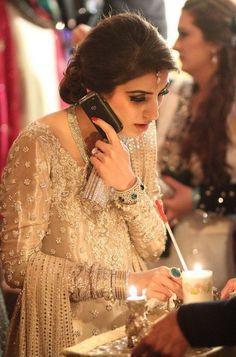 Emerald bracelet and ring -Pakistani Wedding Pakistani Wedding Dresses, Wedding Dresses For Girls, Pakistani Bridal, Pakistani Outfits, Indian Dresses, Indian Outfits, Bridal Dresses, Girls Dresses, Shadi Dresses