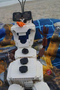 Olaf the Snowman by jmenomeno, via Flickr