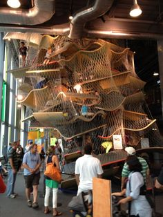 Check out the Boston Children's Museum in Boston, MA for kids between 2 and 12!