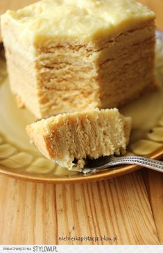 Delicious Honey Cake / Doskonalec (in Polish) Polish Desserts, Polish Recipes, Baking Recipes, Cake Recipes, Dessert Recipes, My Favorite Food, Favorite Recipes, Delicious Desserts, Yummy Food