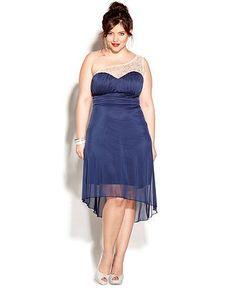 Nice Junior Bridesmaid Dresses Trixxi Plus Size Dress, One-Shoulder Embellished Empire - Plus Size Dresses - Pl... Check more at http://24myshop.ml/my-desires/junior-bridesmaid-dresses-trixxi-plus-size-dress-one-shoulder-embellished-empire-plus-size-dresses-pl/