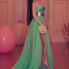 dress color and love the gold belt
