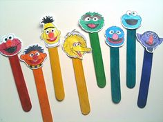 There will be lots of craft stick puppets.