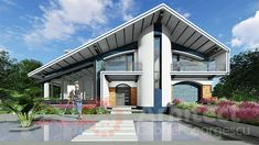 Casa cu etaj 61 | Proiecte de case personalizate | Arhitect Gabriel Georgescu & Echipa Villa, Mountain, Mansions, House Styles, Outdoor Decor, Home Decor, 2nd Floor, Houses, Decoration Home