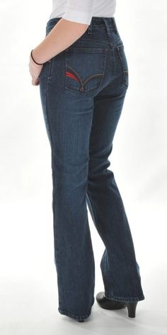 Chasity Mid-Rise Bootcut Jean