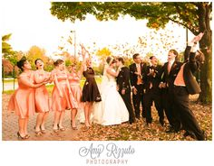 Amy Rizzuto Photography did an amazing job with our Fall wedding!