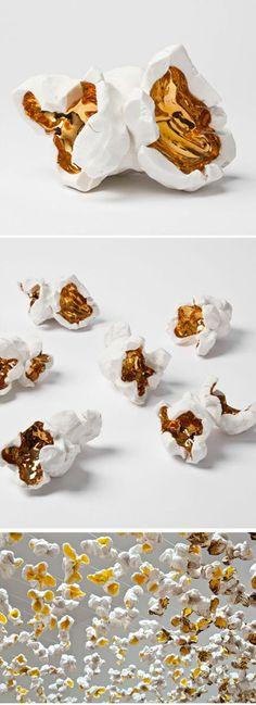 popcorn #art #sculpture #popcorn