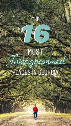 The Best Things to do in Georgia: 25 Places to Visit in the Peach State Hiking In Georgia, Georgia Usa, Atlanta Georgia, Savannah Georgia, Georgia Beaches, Tybee Island Georgia, Helen Georgia, Macon Georgia, Columbus Georgia