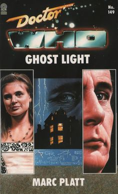 In a deserted upstairs room, the Doctor and Ace venture from the Tardis to explroe the Victorian mansion. Doctor Who Ghost Light book by Marc Platt.
