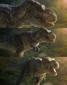 T Rex Jurassic Park, Jurassic Park Poster, Jurassic World Dinosaurs, Jurassic Park World, Prehistoric Wildlife, Prehistoric Creatures, Dinosaur Era, Dinosaur Crafts, Michael Crichton