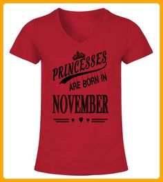 Princesses Are Born In November - Geburtstag shirts (*Partner-Link)