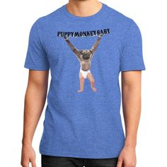 Puppy Monkey Baby District T-Shirt (on man)