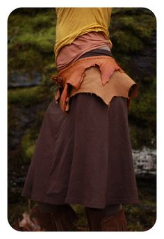 Gypsy Clothes Tribal Leather by CircleofLifeLeather Try getting a similar effect by doing it yourself, it Will mean More! Think outside the box...