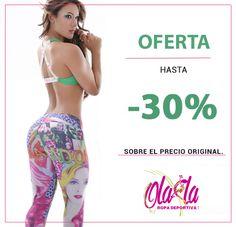 Temporada de descuentos SOLO por amor y amistad... 20 - 30 % de descuento.  VISITANOS y comprueba que TODO es posible.... Descuentos, SOLO por tiempo limitado !!!.  OLA-LA ropa deportiva... + Fitness + Amor, + Amistad + Descuentos !!!  Info: http://www.ola-laropadeportiva.com/…/80-conjunto-deportivo-…  Whatsapp +57 3188278826  #Amoryamistad #Septiembre #Descuentos #Olalaropadeportiva