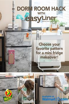 Great ikea kallax hacks you want to have Homemade Wall Decorations, Dorm Decorations, College Dorm Rooms, College Closet, College Apartments, Studio Apartments, Small Apartments, Ikea Dorm, Bed Ikea