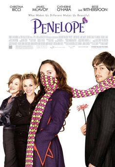 Penelope poster A charming modern fairy tale...