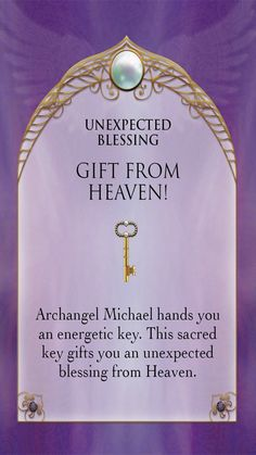 Archangel Michael Sword & Shield Oracle ~ ☆unexpected blessings ☆ Gift from heaven Angel Guidance, Spiritual Guidance, Spiritual Awakening, Archangel Prayers, Gift From Heaven, Angel Cards, Archangel Michael, Auras, Oracle Cards