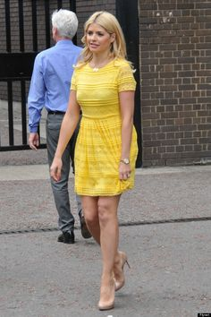 Holly Willoughby.