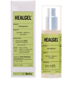 """9 June 2014 - Healgel, Intensive - """"A wonderful product that helped to clear my eczema and instantly soothes stressed skin."""" Sarah Satherley, Social Media Co-ordinator"""