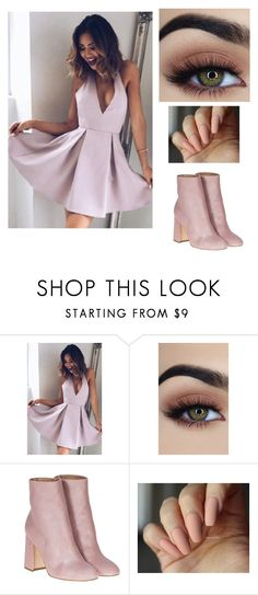 """Pastel baby"" by shreyanithi ❤ liked on Polyvore featuring Laurence Dacade"