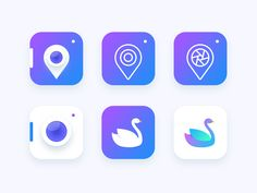 Location based Photography app icon Exploration designed by Prakhar Neel Sharma. Connect with them on Dribbble; the global community for designers and creative professionals. Design Web, Flat Design Icons, App Icon Design, Logo Design, Graphic Design, Creative Design, Design Ideas, Corporate Design, Identity Design