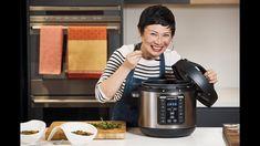 Crockpot Recipe Chunky Red Lentil Kale & Tomato Soup (Vegan) By Poh Ling Yeow Vegan dinner Delicious Crockpot Recipes, Healthy Recipes, Chicken Laksa, Red Split Lentils, Tinned Tomatoes, Multicooker, Recipe Steps, Vegetable Stock, Tomato Soup