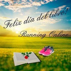 Feliz día del libro! #feliz #diadellibro #sanjordi #sanjorge #rosa #rose #running #runningonline #tiendarunning #tiendarunningonline #correr #correryleer #primavera #shopping #shoppingonline #tiendaonline #shoppingrunningonline