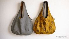 Reversible bags by verypurpleperson, via Flickr