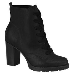 Beira Rio High-heel Boot Black   Buy Online in South Africa   takealot.com High Heel Boots, Heeled Boots, Black Boots, South Africa, Rio, Booty, Heels, Stuff To Buy, Fashion