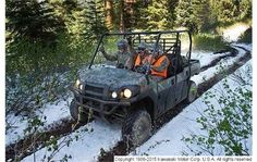 "New 2015 Kawasaki Mule PRO-FXT EPS Camo ATVs For Sale in Ohio. 2015 Kawasaki Mule PRO-FXT EPS Camo, The all-new ""King of Mules"" is the 2015 Kawasaki MULE PRO-FXT™. This highly capable unit mixes Side x Side versatility with class-leading torque, making it the fastest and most powerful MULE ever. It also has new configurable Trans Cab seating for three or six passengers and a standard Kawasaki STRONG three-year warranty, along with more comfort and convenience features than ever before."