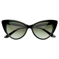 Super Cateyes Vintage Inspired Fashion Mod Chic High Pointed Cat-Eye Sunglasses   Only from Triple Optic will you receive a 100% Satisfaction Guarantee, unrivaled Customer Care, unconditional Full Warranty policy. Vintage Inspired Frame Design Distinct Cat Eye Shape Reinforced Metal Hinges Lens Height:40mm Lens Width:54mm Bridge:18mm Frame Total:146mm
