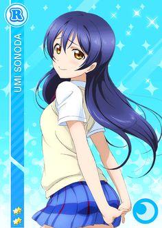 Umi Sonoda - Love Live [Cards] [Parte - Manga y anime en Taringa! Beautiful Anime Girl, Anime Love, Dark Boy, Umi Love Live, Manga Anime, Anime Art, Video Games Girls, Drawing Eyes, Kirara