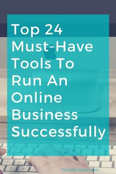 Do you secretly wish that running your business wasn't so....difficult. When you're running an online business there is no excuse for being unorganised. There are thousands of tools to help you gain control of your virtual business and life. But isn't that half the problem? There are so many tools and you end up feeling overwhelmed. Fortunately, it just got a whole lot easier: Here are my top 24 must-have tools to run your online business smoothly.