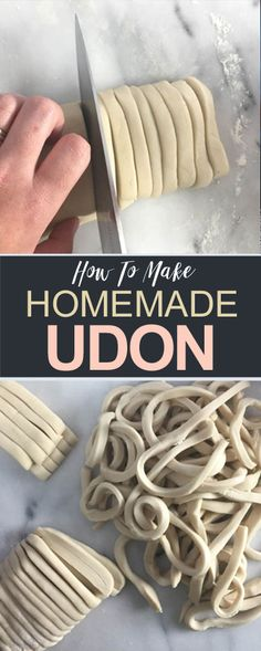 Fresh homemade udon noodles are surprisingly easy to make – all you need are 4 simple ingredients and a lazy weekend afternoon.